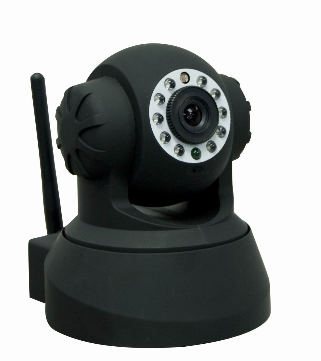 IP CAMERA PAN/TILT WIFI NIGHT/DAY BLACK